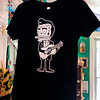 "Johnny Cash cartoon Day of the Dead influenced print T-shirt by Jose Pulido, $24. Bella Frida | Clothing & folk art de Mexico in Louisville on January 9, 2013. <br /> Photo by Paul Aiken / The Daily Camera / January 8, 2013<br /> fashion<br /> Bella Frida | Clothing & folk art de Mexico<br />  <a href=""http://www.bellafrida.com/Bella"">http://www.bellafrida.com/Bella</a> Frida is a locally owned store in Historic Downtown Louisville, Colorado featuring colorful hand-embroidered clothing and original folk art from Mexico.<br /> Google+ page"