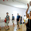 "Luciana da Silva, of Colorado Springs instructs a beginners solo samba class in Kakes studio. The samba class is a part of the Colorado Brazil Festival, highlighting different types of dance. August 4, 2012. Rachel Woolf/ For the Daily Camera. For more photos and a video of the class, go to  <a href=""http://www.dailycamera.com"">http://www.dailycamera.com</a>."