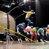 """The Chinese performers practice one of their jump rope routines on Wednesday.<br /> Cirque du Soleil performers  prepare for the Dralion performances at the 1ST Bank Center in Broomfield. There are eight shows from today to Feb. 12th.<br /> For a video and photos  of the rehearsal, go to  <a href=""""http://www.dailycamera.com"""">http://www.dailycamera.com</a>.<br /> Cliff Grassmick / February 8, 2012<br /> <br /> NO SALES"""