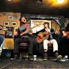 From left, Zach Miller, Toby Leaman, Scott McMicken, and Frank McElroy of  Philadelphia-based band Dr. Dog performs an acoustic set at Conor O'Neil's in Boulder on Tuesday, Oct. 26, 2010. <br /> CAMERON REDWINE / Camera