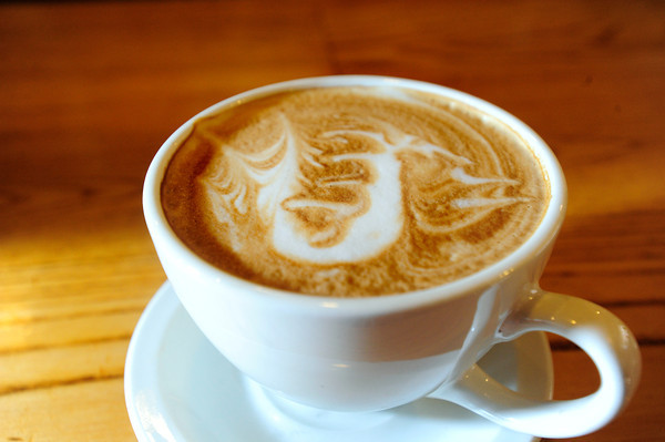 LATTE<br /> Dragon latte art at The Cup in Boulder.<br /> Photo by Marty Caivano/Oct. 25, 2011
