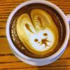 Latte art - bunny<br /> Courtesy photo