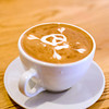 Latte art - skull and crossbones<br /> Courtesy photo