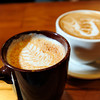 LATTE<br /> A steamed chai and a latte show art created by the baristas at The Cup in Boulder.<br /> Photo by Marty Caivano/Oct. 25, 2011