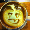 Latte art - Jack O'Lantern<br /> Courtesy photo