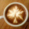 Latte art - Maple leaf<br /> Courtesy photo