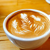 LATTE<br /> A rosetta on top of a latte at The Cup in Boulder.<br /> Photo by Marty Caivano/Oct. 25, 2011