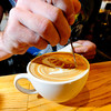 LATTE<br /> Barista Adam Westlake creates a dragon on top of a latte at The Cup in Boulder.<br /> Photo by Marty Caivano/Oct. 25, 2011