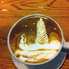 Latte art - winter wonderland<br /> Courtesy photo