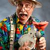 Magician Brent Warren aka Doc Murdock<br /> Photo by Paul Aiken<br /> Brent Warren is a magician, Doc Murdock. <br /> He will be here for a Q&A portrait.