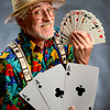 Magician Brent Warren aka Doc Murdock<br /> Photo by Paul Aiken<br /> Brent Warren is a magician, Doc Murdock. <br /> He will be here for a Q&A portrait.