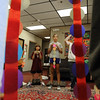 "Charlie Laham, left, and sister, Sidney, hold up the line of chakras they created during class.<br /> Psychic courses for children focus on giving children the tools to learn to stay connected to their inner knowing, understand their personal space and help them connect to what is true and important for them.<br /> For more photos, go to  <a href=""http://www.dailycamera.com"">http://www.dailycamera.com</a>.<br /> Cliff Grassmick / July 21, 2012"