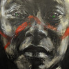 BRAINART<br /> A painting by William Stoehr.<br /> Photo by Marty Caivano/Camera/Nov. 9, 2010