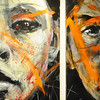 BRAINART<br /> Paintings by William Stoehr.<br /> Photo by Marty Caivano/Camera/Nov. 9, 2010