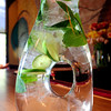 DRINKS<br /> A pitcher of Rum Mint Sangria from Salt Bistro, which includes rum, mint, lime juice, white wine, triple sec, and sugar to taste.<br /> Photo by Marty Caivano/May 9, 2011