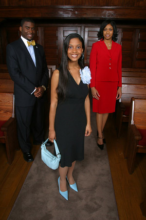 Ebony Magazine Editorial Shoot on the Tougaloo College campus in the College Chapel