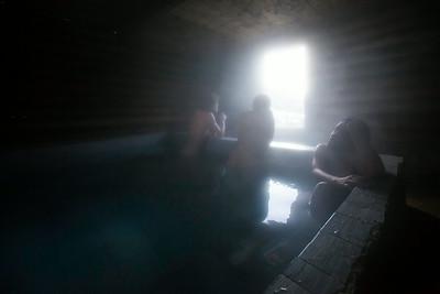 Hot Tub/Altin Arashan/Kyrgyzstan
