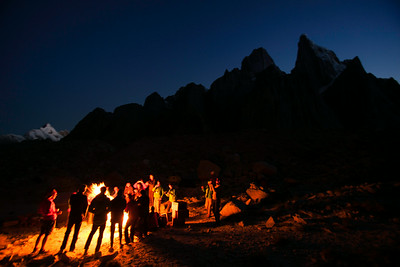 Last Night in Trango Basecamp/Pakistan