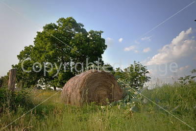 LONESOME HAYBALE