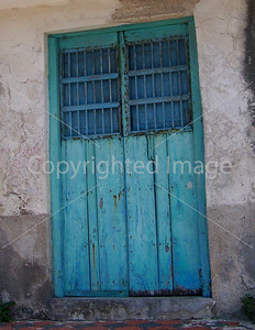 ANOTHER BLUE DOOR IN MEXICO