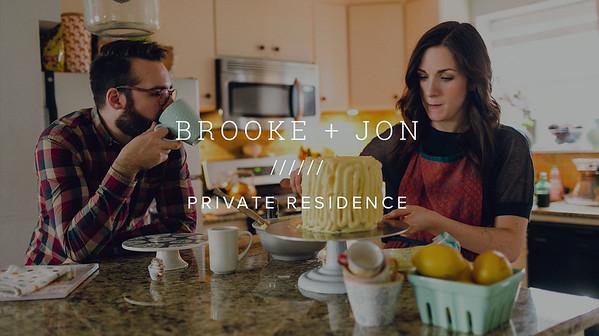BROOKE + JON ////// PRIVATE RESIDENCE