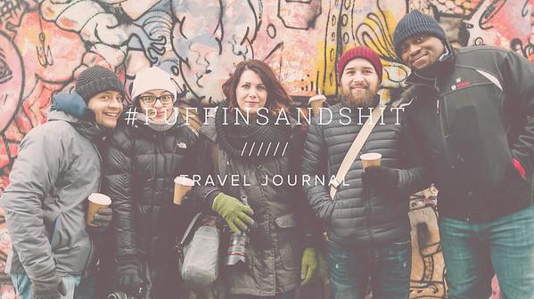 #PUFFINSANDSHIT ////// TRAVEL JOURNAL