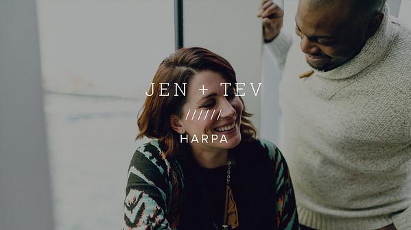 JEN + TEV ////// HARPA