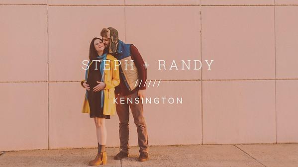 STEPH + RANDY ////// KENSINGTON