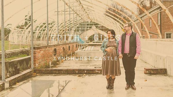 EDITH + GILES ////// LYNDHURST CASTLE