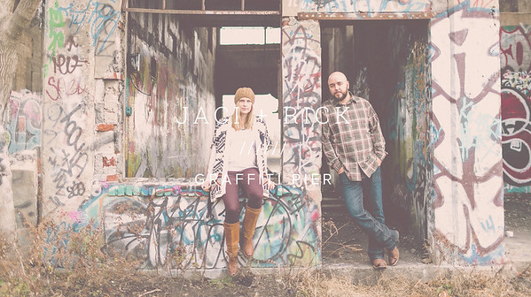 JACI + RICK ////// GRAFFITI PIER