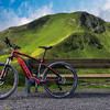 Simplify your Life but Never Lose Your Freedom | BMX Mountain Bike MTB in The Austrian Bicycle Riding Cycling Championship Alps Wallpaper Wall Art Commercial Advertising and Lifestyle Photography