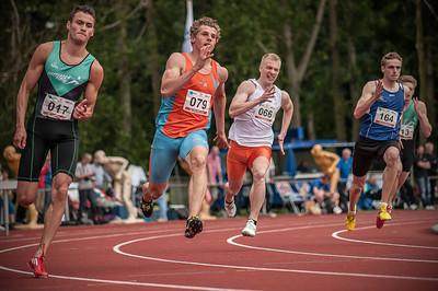 NK Junioren Eindhoven | Atletiek 200 meter sprint