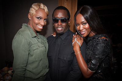 Birthday celebrations with P.Diddy and Naomi Campbell