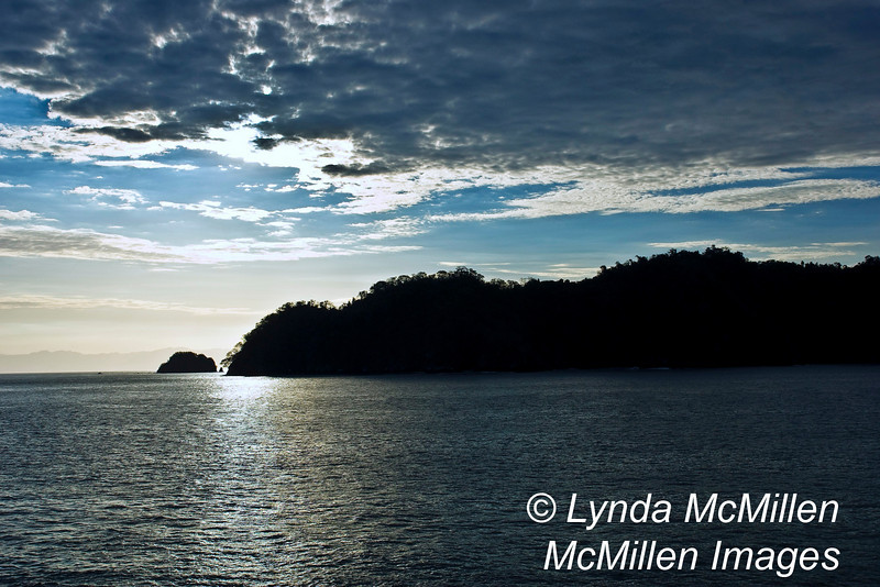 Sunrise over Tortuga Island, Costa Rica