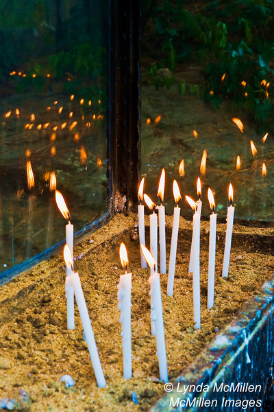 Prayer Candle ghosts, Ephesus (Efes), Turkey.