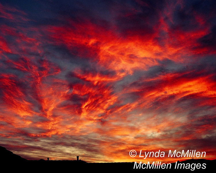 Sky Fire: A Newport Coast Sunrise
