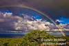 Rainbow over Big Island, Hawaii.