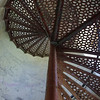 SAGINAW RIVER RANGE LIGHTHOUSE STAIRCASE