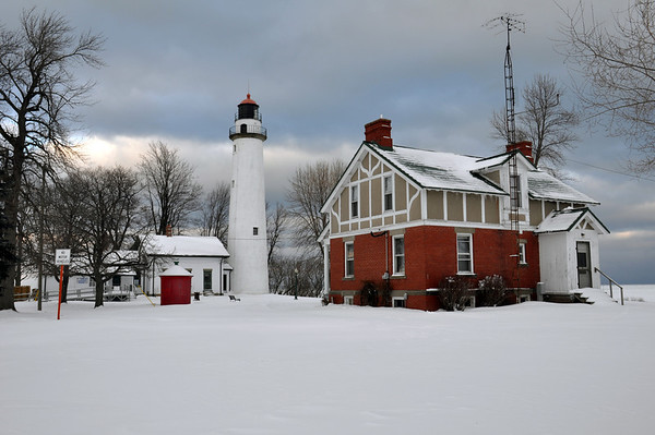 POINT AUX BARQUES LIGHTHOUSE AND KEEPERS HOUSE