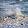 WAVES ON LAKE HURON IN PORT SANILAC