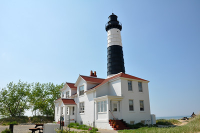 A SUNNY DAY AT BIG SABLE LIGHT HOUSE