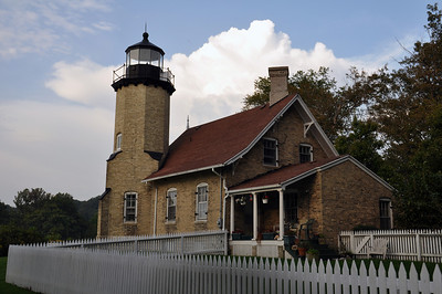 BACKSIDE OF THE WHITE RIVER LIGHTHOUSE
