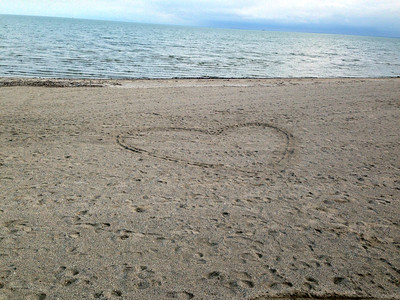 HEART IN THE SAND LUNA PEIR