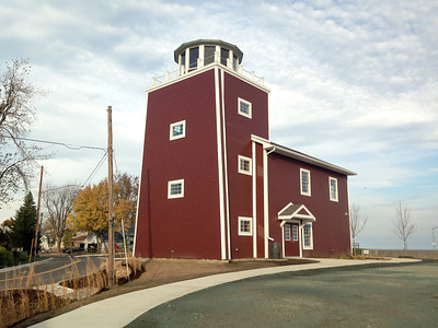BACK SIDE OF LUNA PEIR LIGHTHOUSE