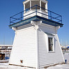 FRONT OF PORT CLINTON LIGHTHOUSE