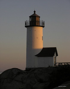 Annisquam lighthouse.
