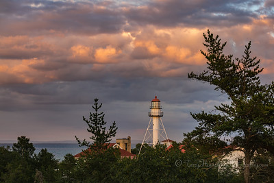 Summer Evening at the Point