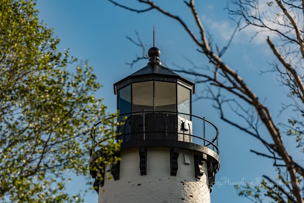Point Iroquois Light Close-up