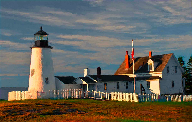 Pemequid Point Lighthouse, Maine side