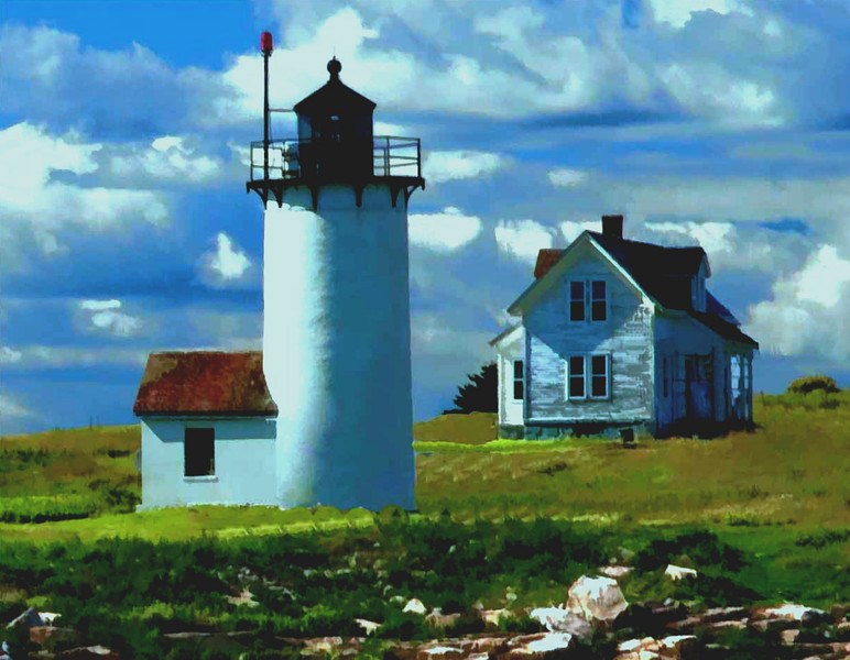 Maine light keepers house